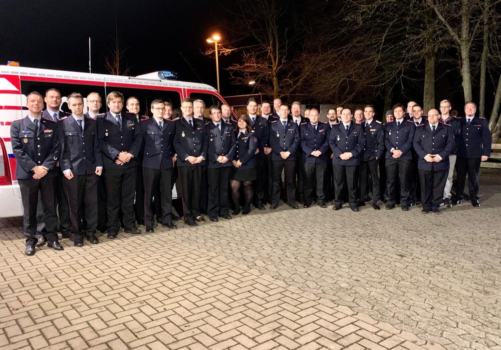 Die ABC-Einheit der Feuerwehr Braunschweig.