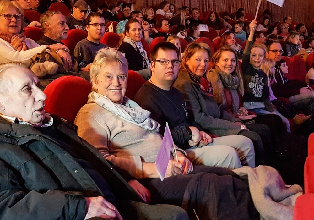 Volles Haus – alle Generationen zusammen im Kino