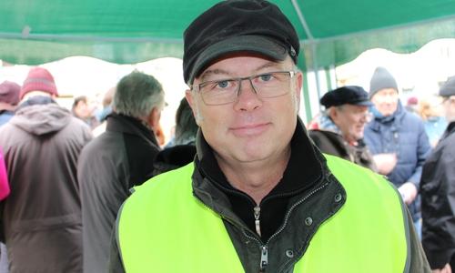 Ratsherr Udo Sommerfeld (Die Linke) hält den Antrag der FDP für einen Scherz.