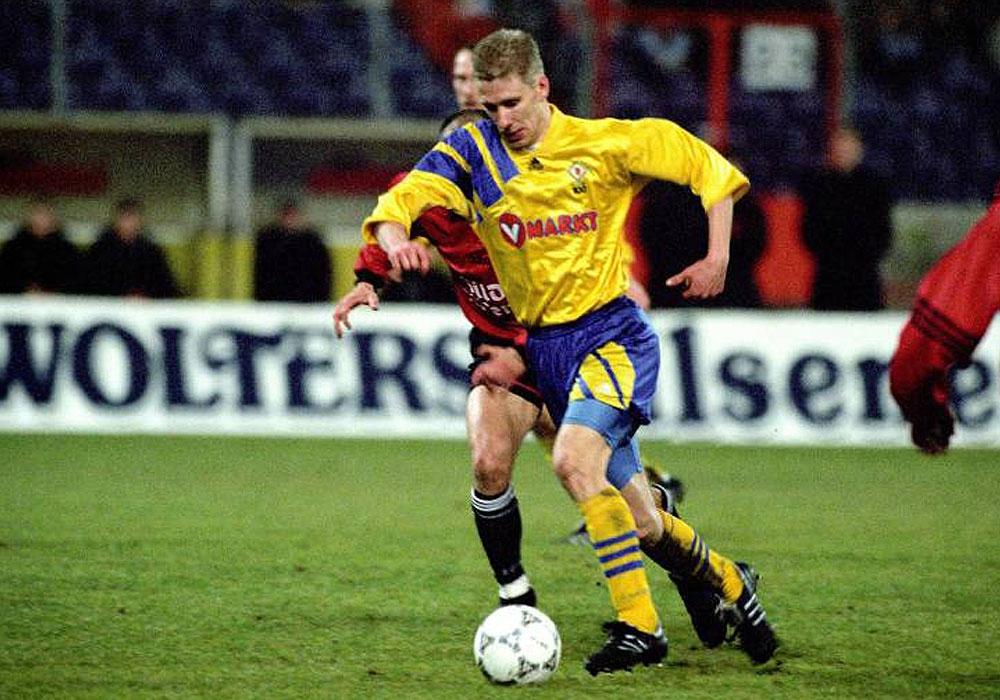 Am 12. Februar 1997 verloren Thorsten Kohn und die Eintracht in Hannover mit 0:4.