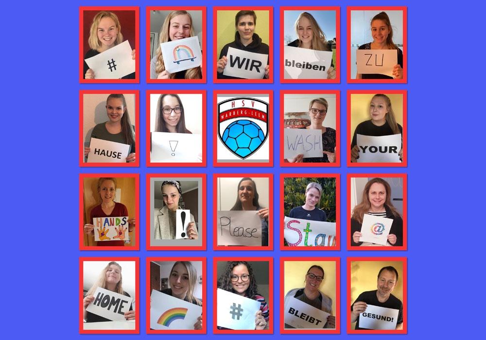 Die Handball-Mädels aus dem Landkreis Helmstedt halten auch von zu Hause aus regelmäßigen Kontakt über ihre Whats App-Gruppe.