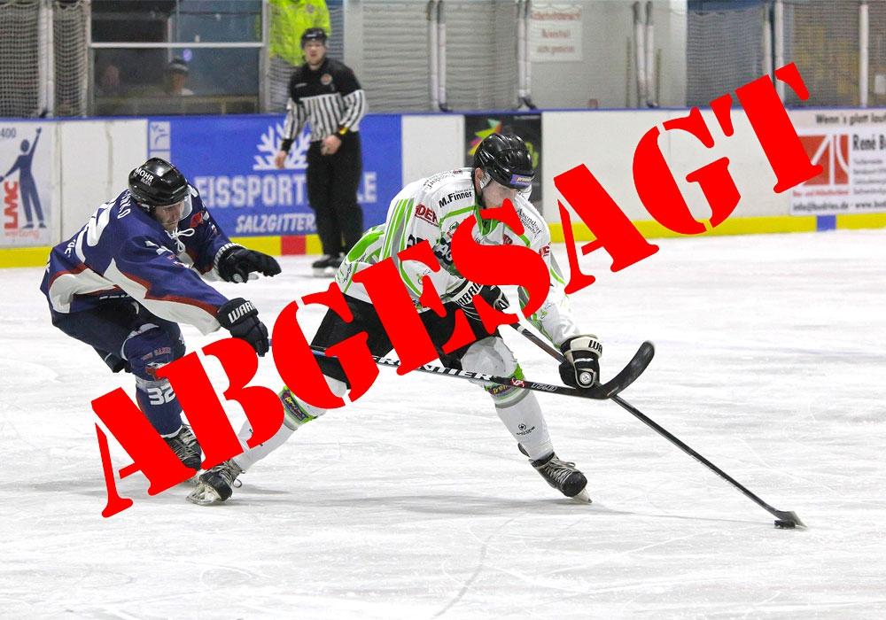 Kein Eishockey mehr in Deutschland.