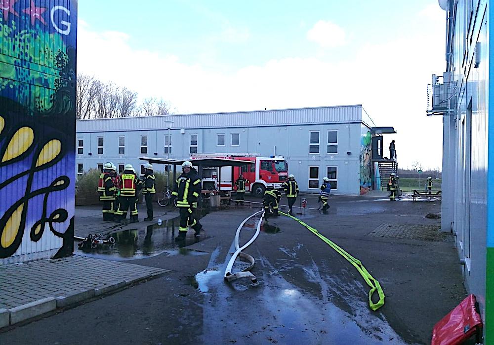 Es waren an die 50 Feuerwehrleute im Einsatz.