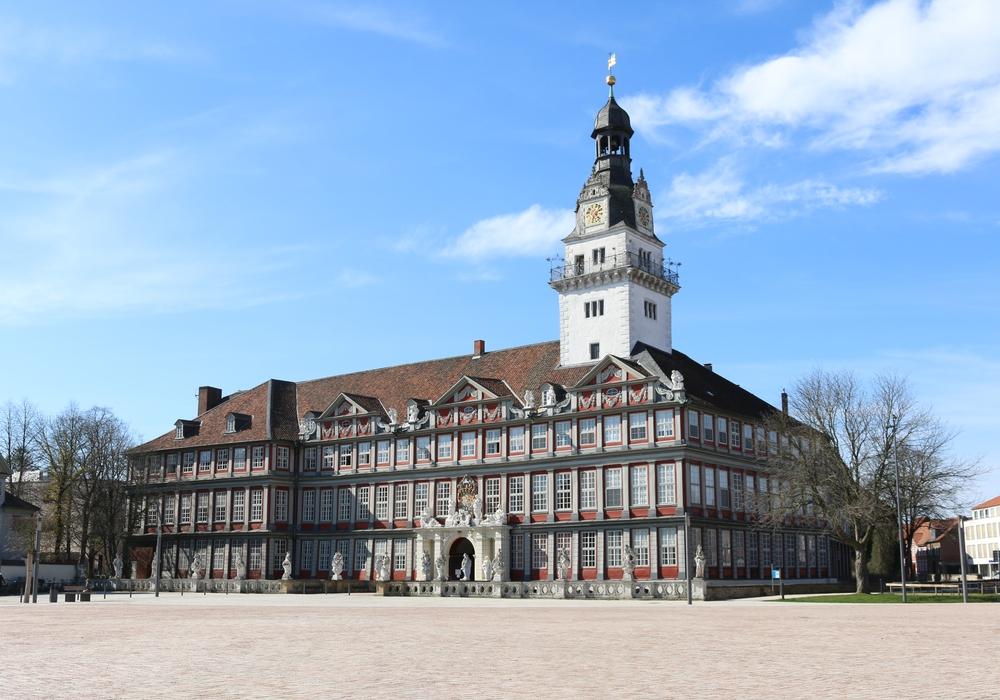 Das Schloss in Wolfenbüttel.