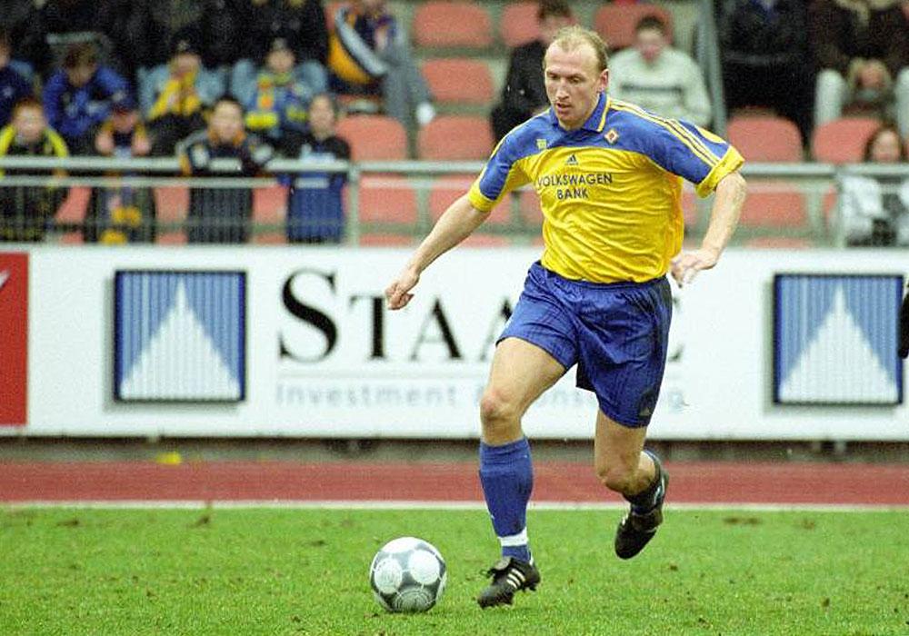Traumquote als Fußballheld: Dirk Weetendorf.