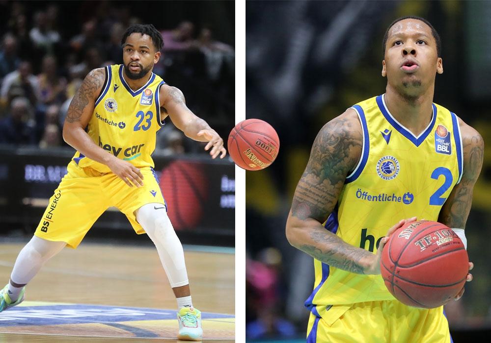 Trevor Releford und Jairus Lyles werden die Basketball Löwen Braunschweig mit sofortiger Wirkung verlassen.