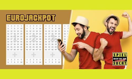 Der EuroJackpot will geknackt werden!