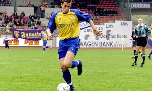 Bernd Eigner eilte der Ruf des knallharten Verteidigers voraus.
