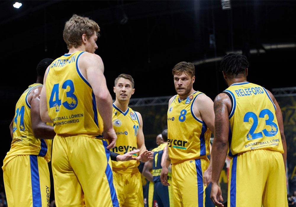 Saison vorzeitig beendet: Die Basketball Löwen haben sich gegen ein Weiterspielen entschieden.