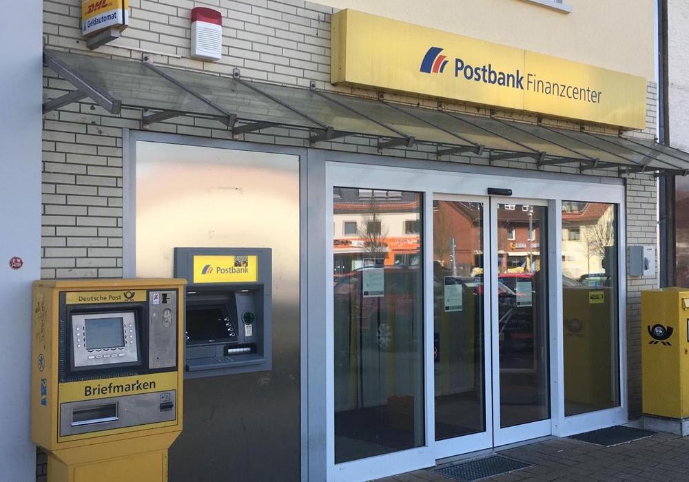 Die Postbankfiliale am Nibelungenplatz wird aufgegeben.