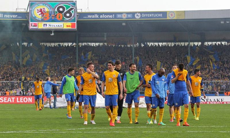 Braunschweig Mannschaft