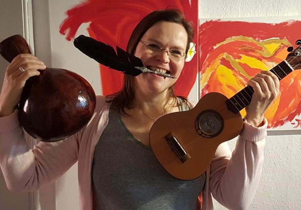 Kea Martina Schwarzfeld lebt für die Kunst.