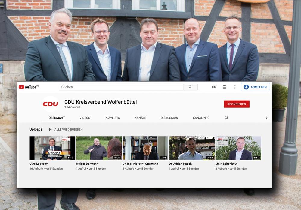 Die parteiinternen CDU-Kandidaten im Wahlkreis 49 stellen sich den Mitgliedern und der Öffentlichkeit auf YouTube vor.