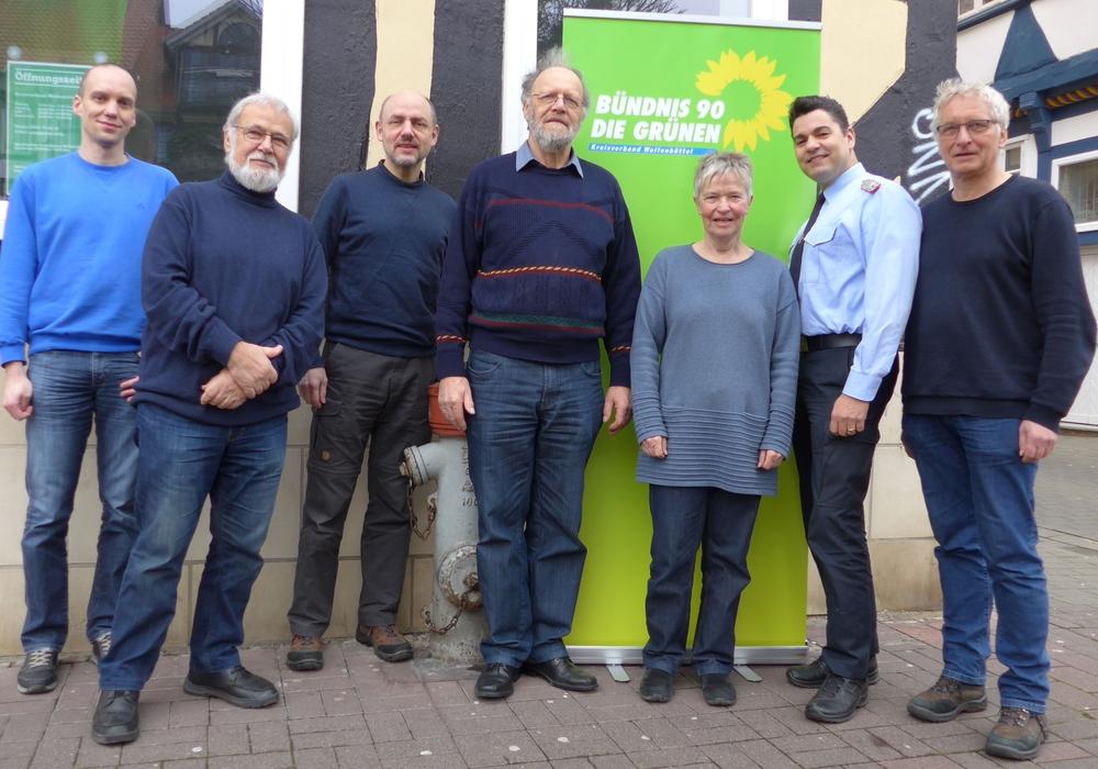 René Basse (Bürgermitglied), Hilmar Nagel, Dr. Reinhard Gerndt, Ehrhard Dette, Christiane Wagner-Judith, Tobias Thurau, Holger Barkhau (v. li.).
