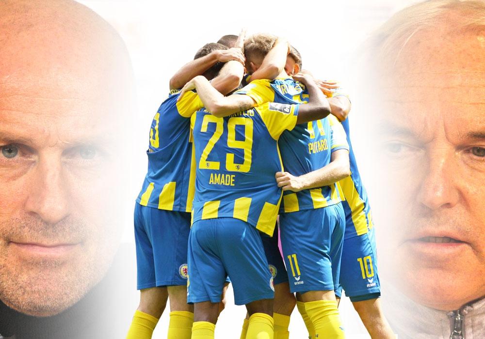 Der Re-Start ist vor allem eine große Chance für Trainer Marco Antwerpen, Sportdirektor Peter Vollmann und Eintracht Braunschweig.
