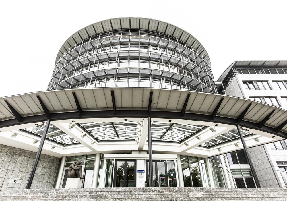 Das Hauptgebäude der Öffentlichen Versicherung in Braunschweig.