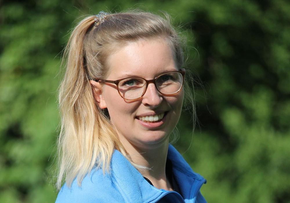 Die neue Regionalgeschäftsstellenleiterin Josefine Beims stellt sich vor.