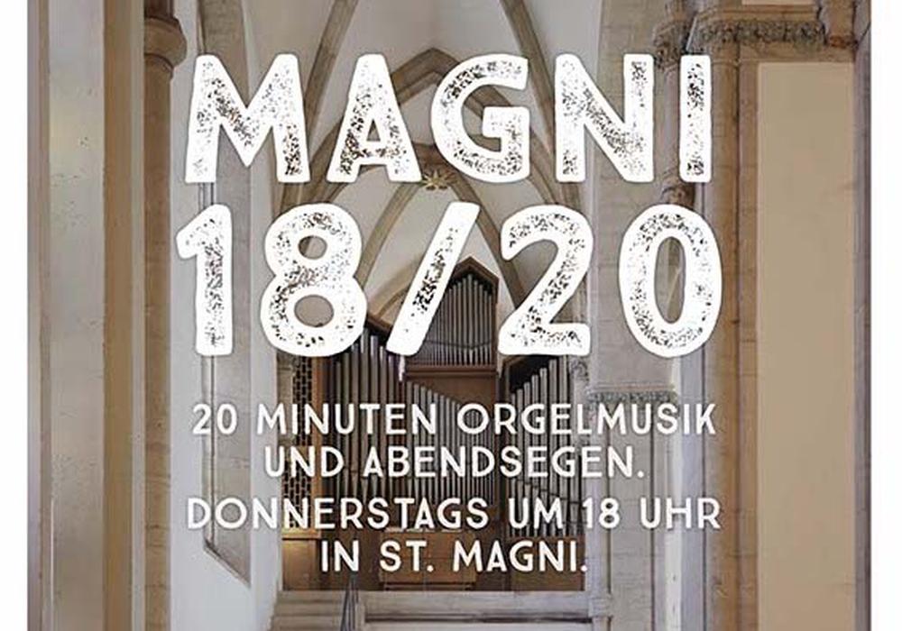 Die Braunschweiger Magni-Gemeinde lädt zu Orgelmusik und Abendsegen in die Magni-Kirche ein.
