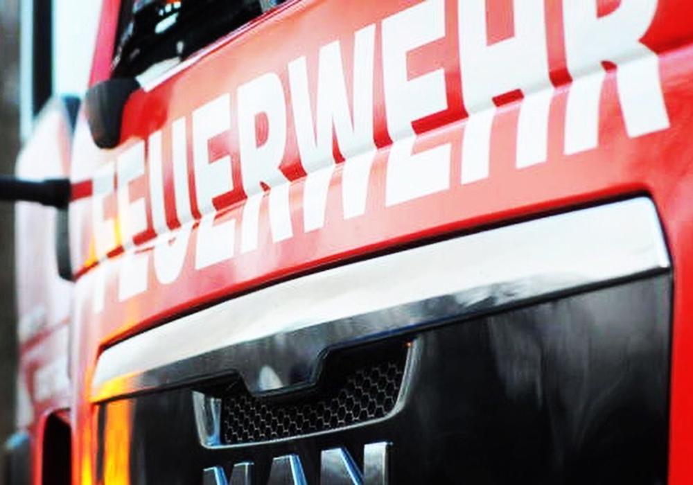 Die Feuerwehr war im Einsatz vor Ort.
