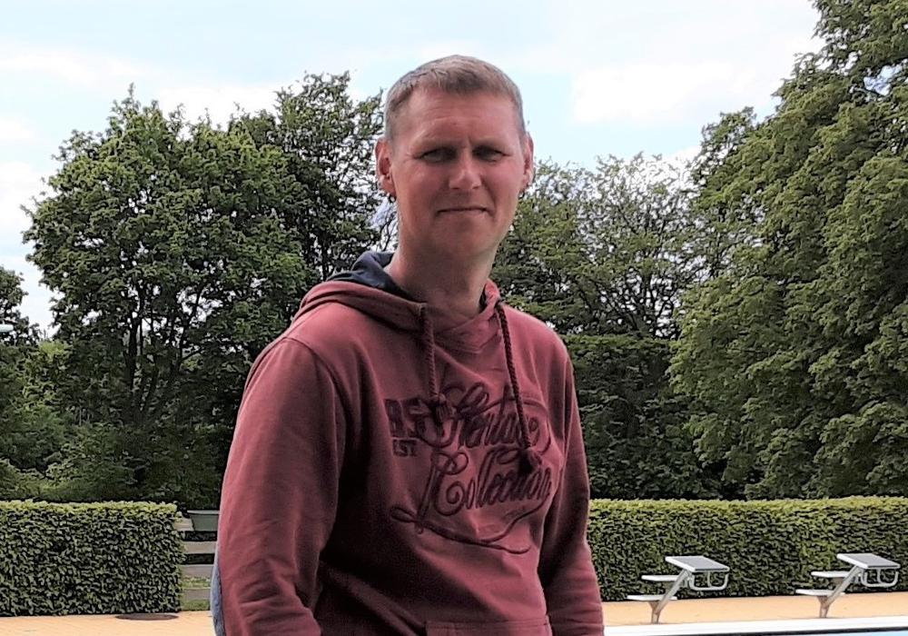 Der neue Badleiter Stefan Bartsch.