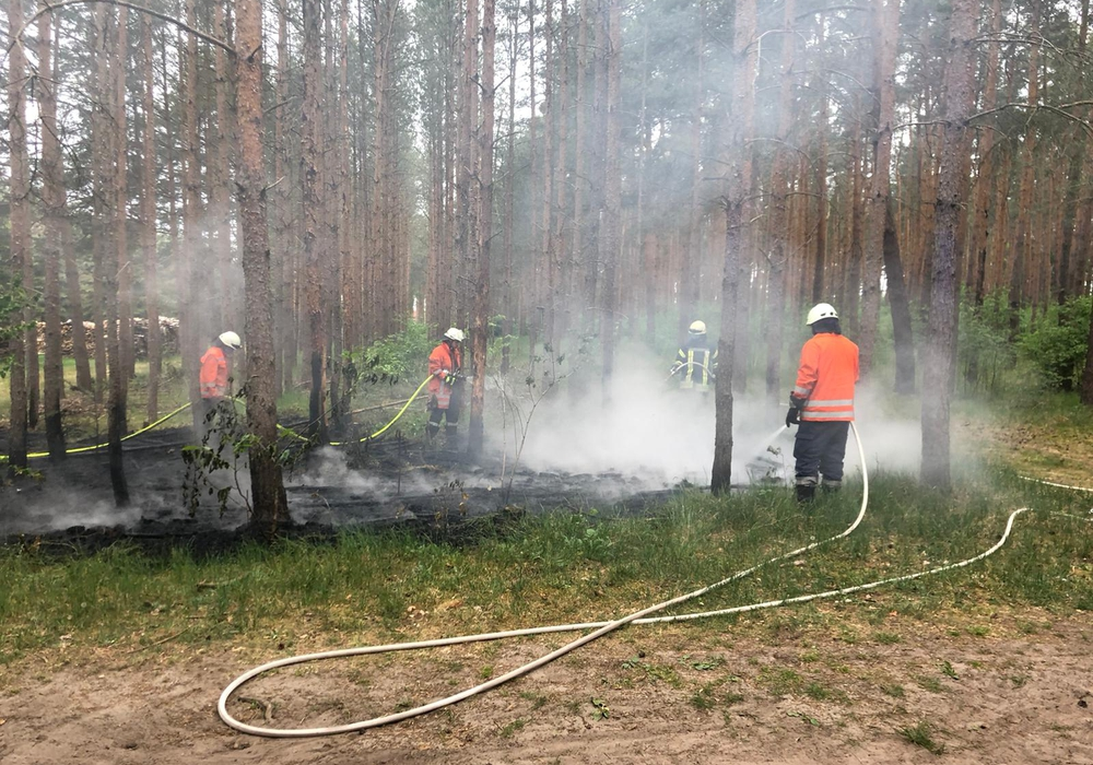 Die Feuerwehr konnte den Brand ablöschen.