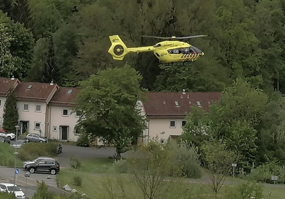 Die Patientin wurde mit dem Hubschrauber zurück nach Zwolle geflogen.