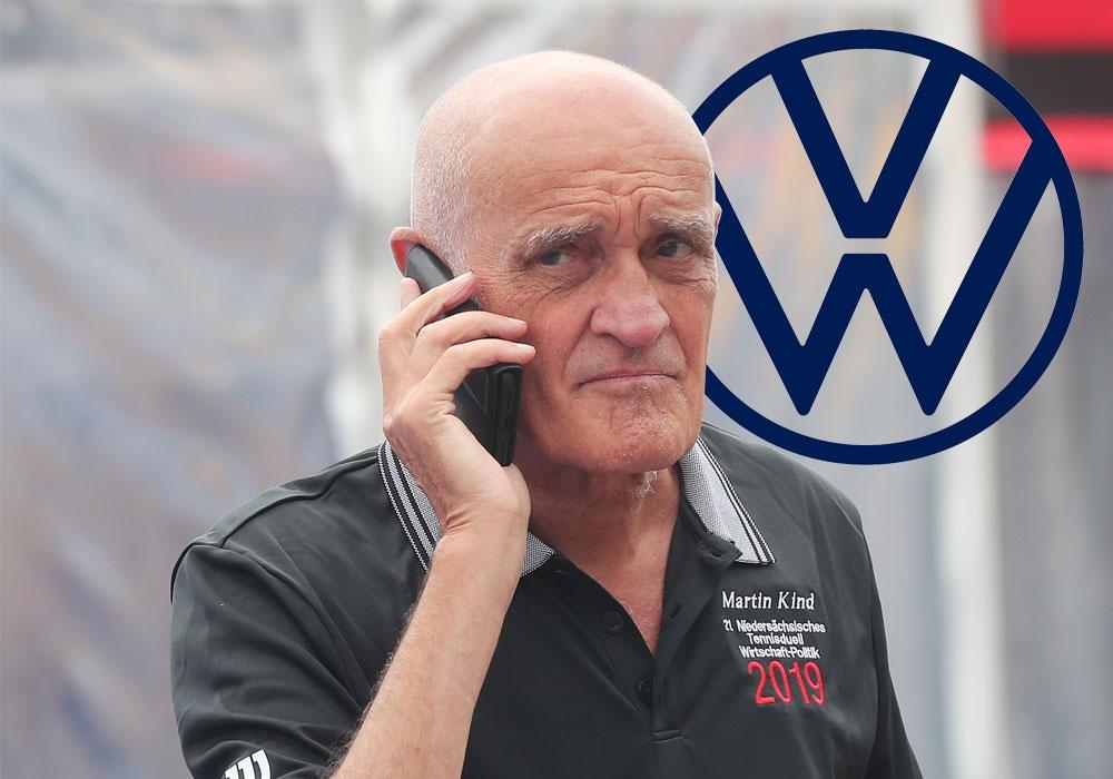 Volkswagen am Ohr: Der Autobauer steigt bei Hannover und Boss Martin Kind als Sponsor aus.
