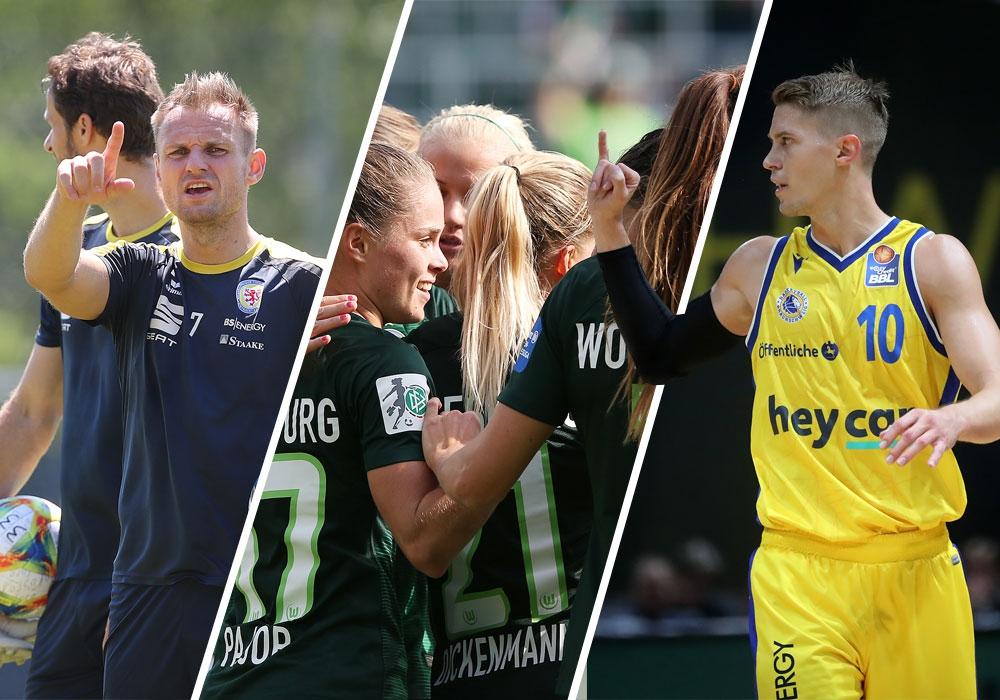 Grünes Licht für 3. Liga, Frauen-Bundesliga und Basketball-Bundesliga.