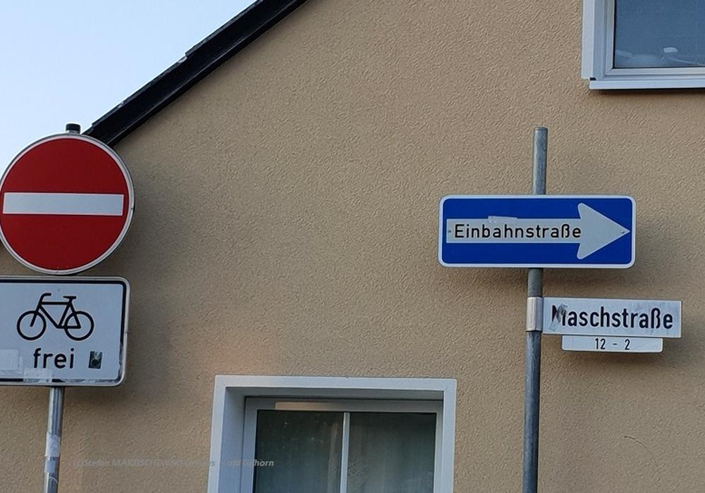 Die Maschstraße in Gifhorn.