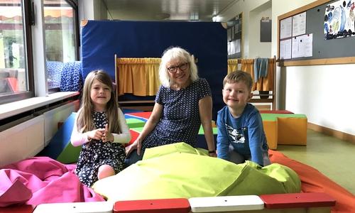 Renate Stiers pädagogischer Ansatz war es, zu den Kindern eine Beziehung aufzubauen.