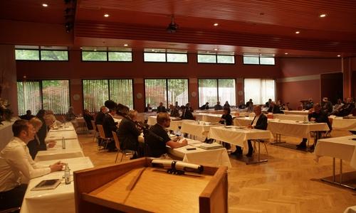 Der Rat der Stadt Goslar im Lindenhof. (Symbolbild)