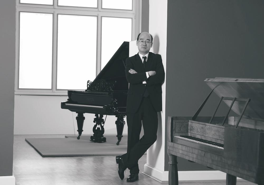 In-Kun Park, neuer Leiter des Jugend-Sinfonie-Orchesters.