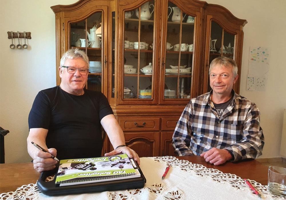 Zusammenarbeit verlängert: Friedel Schulze, 1. Vorsitzender (li.) und Dirk Asendorf (re.).