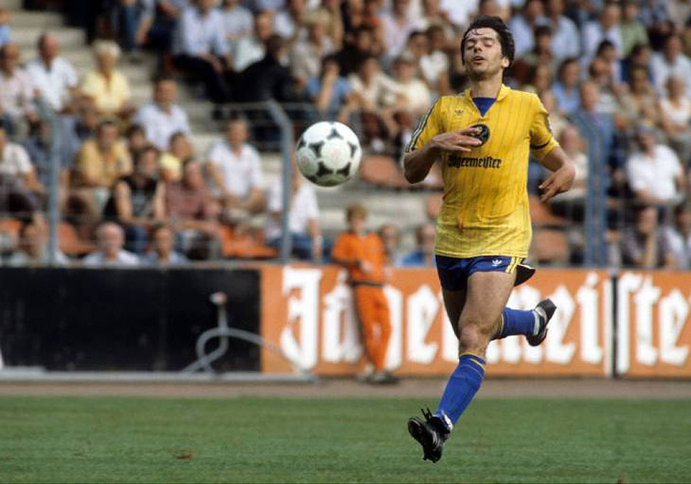 Von 1979 bis 1986 bei Eintracht Braunschweig: Michael Geiger.