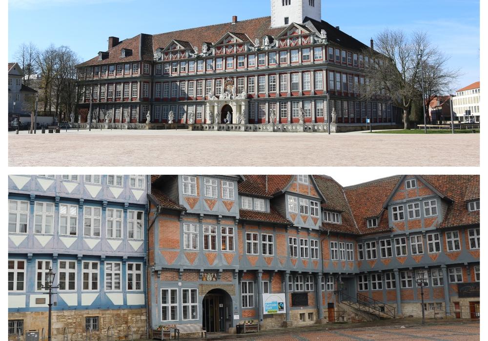 Schlossplatz oder Stadtmarkt? Beide Plätze bieten Vor- und Nachteile.