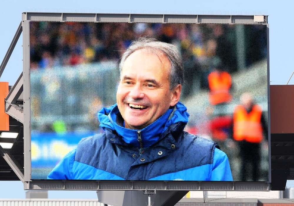 Braunschweigs OB Ulrich Markurth freut sich über die Aufmerksamkeit durch das sportliche Großereignis.