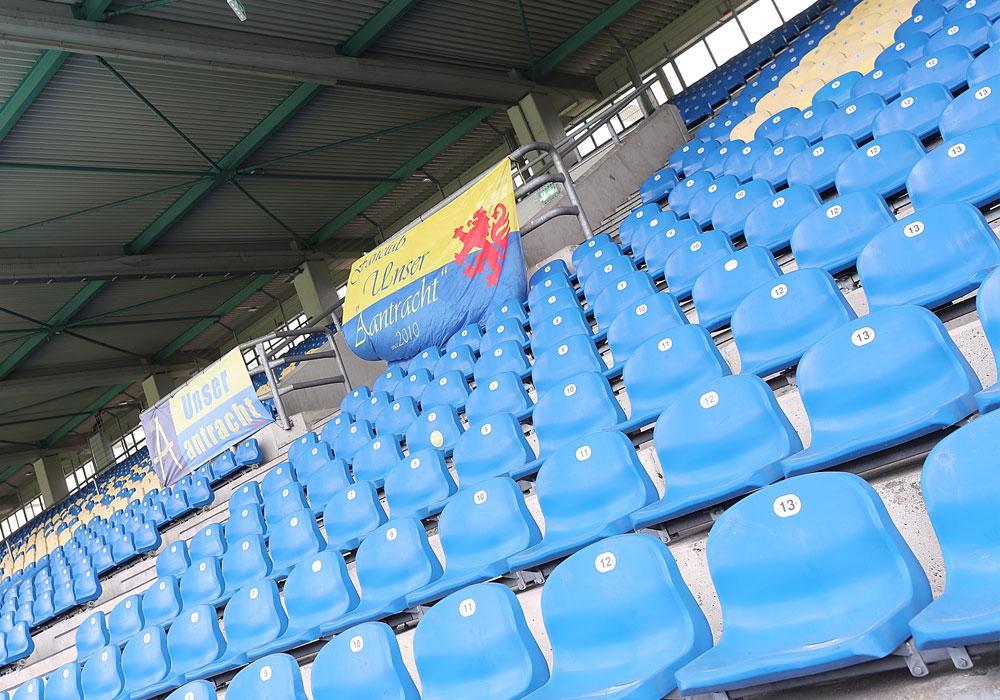 Am Sonntag kommt etwas Leben ins ansonsten leere Eintracht-Stadion.