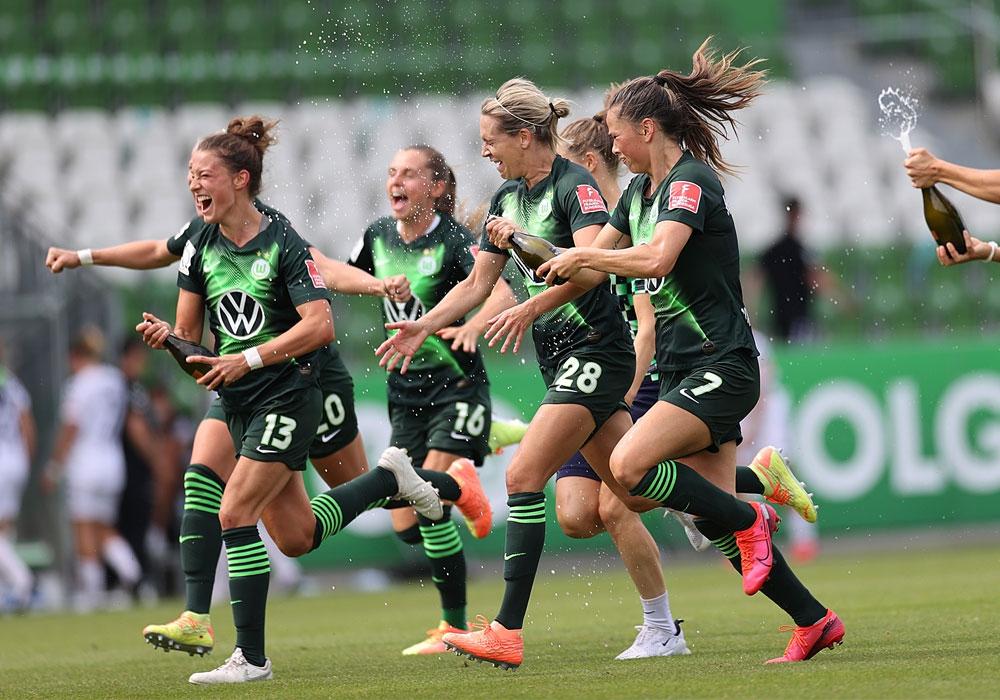 Die vierte Deutsche Meisterschaft in Folge für die VfL-Frauen.