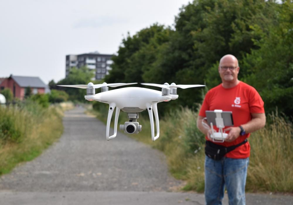 Die Stadtverwaltung setzt erfolgreich Multicopter ein, um Fachdienste in ihrer Arbeit zu unterstützen.