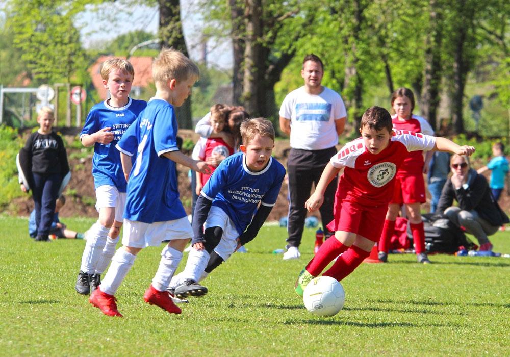 Die SG Braunschweig sucht Talente der Jahrgänge 2005 bis 2007.
