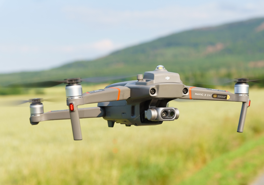 Mit Hilfe der Drohne könnten beispielsweise Brandnester bei Wald- und Vegetationsbränden aufgespürt werden.