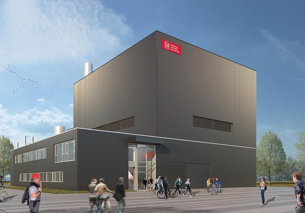 Das neue Zentrum für Brandforschung.