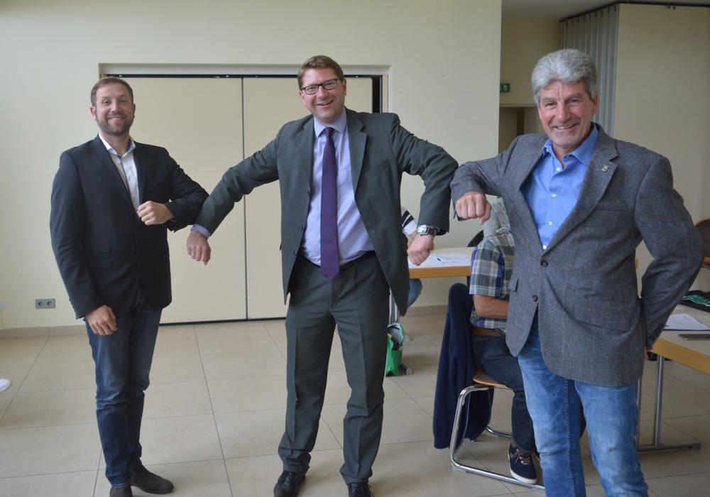 Von links: Tobias Bosse, Marco Kelb und Thorsten Tiedt.