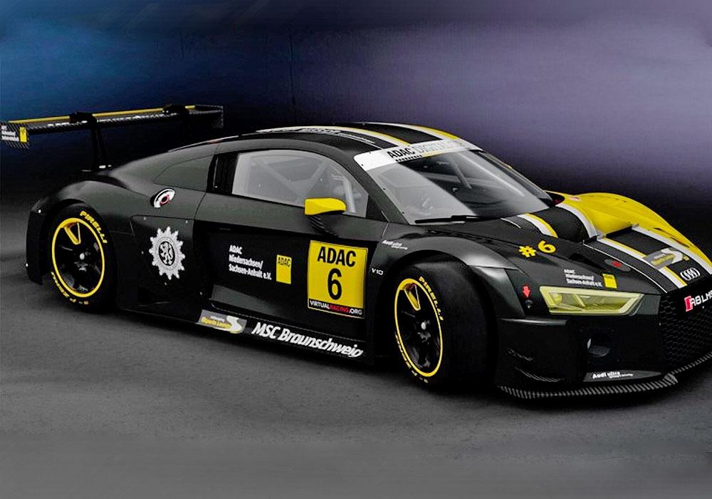 Der  MSC Polizei Braunschweig im ADAC  startet  mit drei Fahrern in der Liga 1 zum virtuellen  Rennen im e-sport.