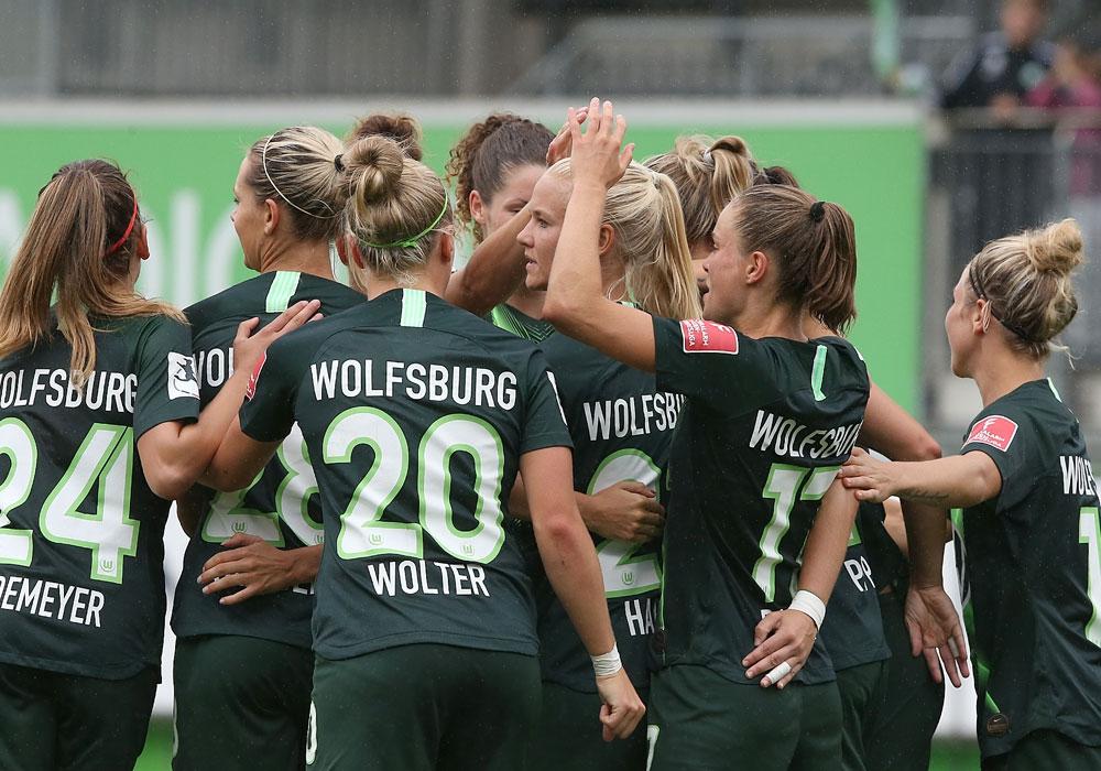 Auf dem Weg zum vierten Meistertitel in Folge: VfL-Frauen.