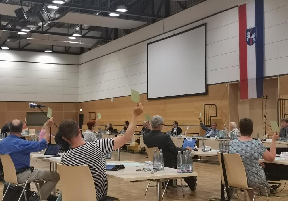 Zuletzt fanden die Sitzungen des Rates aufgrund der Raumgröße in der Lindenhalle statt.