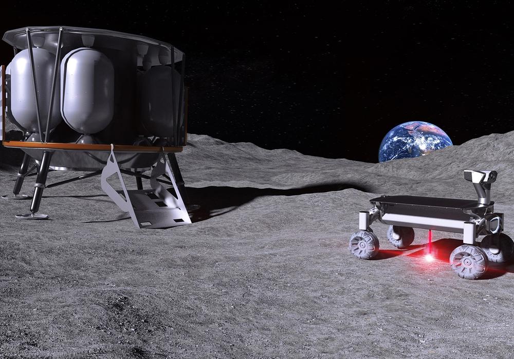 Vision: Die Moonrise-Technologie im Einsatz auf dem Mond.