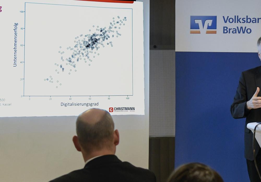 Wolfgang Christmann, Inhaber der gleichnamigen Firma, erläuterte in Lengede, warum sich Digitalisierung lohnt und der Weg gar nicht so schwer ist.