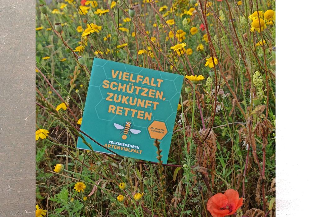 """""""Ein breites Bündnis aus über 160 Partnern unterstützt bereits das Volksbegehren Artenvielfalt in Niedersachsen""""."""