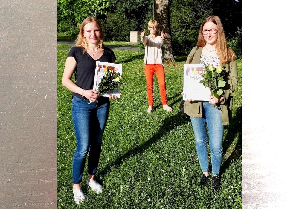Die Preisträgerinnen des diesjährigen Zonta-Preises.